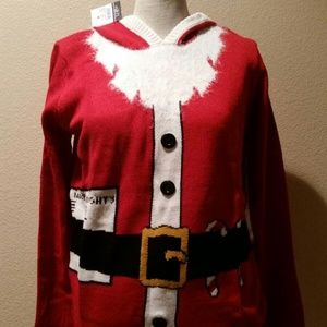NWT RUE 21Christmas santa sweater